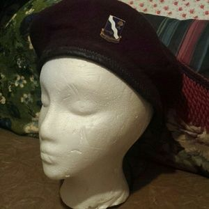 Vintage WWII.Beret with DUI